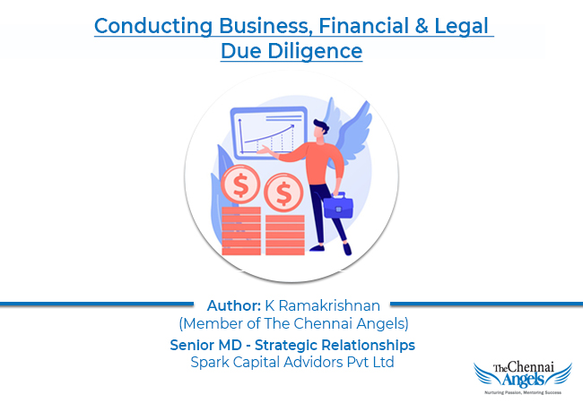 conducting business, financial and legal due diligence